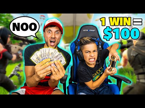 Every VICTORY i Get I WIN 100 MY DAD FREAKS OUT Royalty Gaming