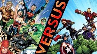 Avengers VS Justice League: Epic Battle!