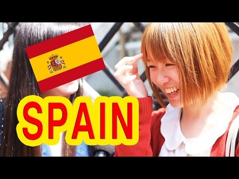 Ask Japanese about SPAIN � �What Japanese think of Spain and Spanish people