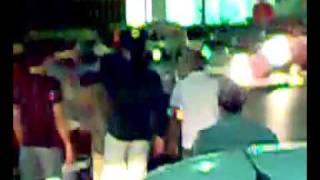 فيديو  ليبيا ما بعد الثورة   فتاة ليبية في حالة سكر تحتفل بالنصر وترقص في الشارع