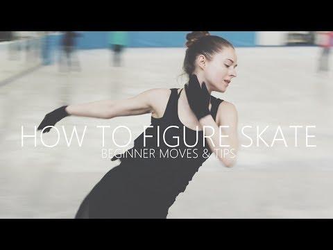 How To Figure Skate ❤ Beginner Moves & Tips