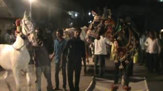 Bhavesh patel Dancing on horse