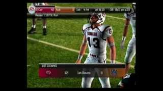 NCAA Football 2011 PS2 Gameplay (Gamecocks VS Auburn)