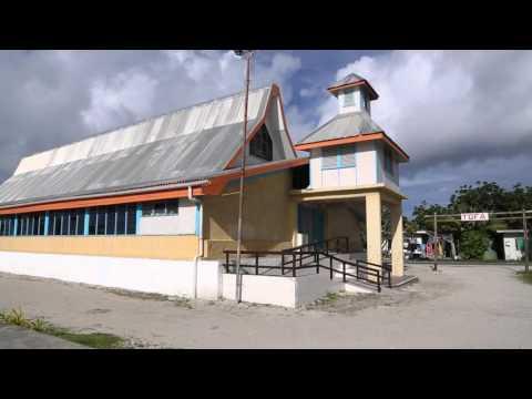 Tuvalu Funafuti Centre ville / Tuvalu Funafuti City center