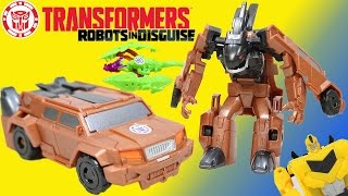 Transformers Robots in Disguise 1 Step Quillfire! Can Bumblebee's Team stop his Revolution?!!