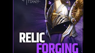 Dawn Of Titans   The REAL ODDS of Relic Forging  