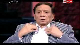 """من الذاكرة - عادل إمام يفضح أحمد تهامى فى اول لقاء لهما .. محمد إمام """" فى حد هنا متفضحش """" !!"""