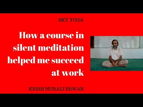 Xxx Mp4 How A Course In Silent Meditation Helped Me Succeed At Work 3gp Sex