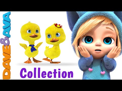 Download Five Little Ducks | New Nursery Rhymes Collection from Dave and Ava