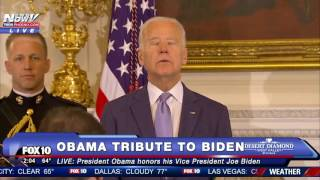 SO EMOTIONAL: Obama SURPRISES a CRYING Joe Biden With Medal of Freedom - FNN