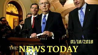 News Today 01/18/2018 | Donald Trump | Congress To Vote Thursday For Funding Bill To Avoid Gove...
