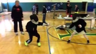 Fencing at Denver Academy