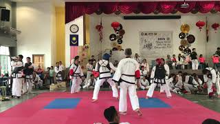 Tang Soo Do National- Muzahid vs Michael Owen