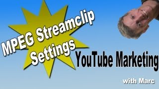 How to make an MP4 file - Mpeg Streamclip Settings
