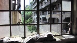 World Mystery Ghost Island Hashima 軍艦島 Gunkanjima rare footage