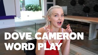 Dove Cameron for RAW's Word Play