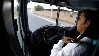 GoPro - Dirigindo Marcopolo 1800 DD 8x2 Scania K420 - Ponto de Apoio