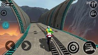 Impossible Motor Bike Tracks - Motorcycle Stunts For Kids Videos Games