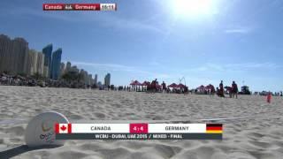 WCBU 2015 | Canada vs Germany - FINAL (Mixed) 1080p re-upload