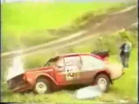 Compilado de vários acidentes de Rally