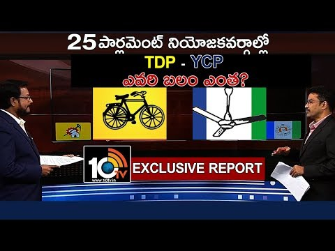 TDP And YCP MP Candidates Strengths AP Elections 2019 10TV Special Report