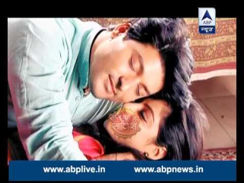 Sandhya and Sooraj enjoy their romantic moments but someone disturbs them