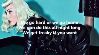 Madonna - Bitch I'm Madonna (ft. Nicki Minaj) -- Lyric Video // Lyrics On Screen