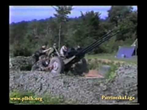 Tuzla Zivinice 1992 ARBiH & HVO vs Cetnici