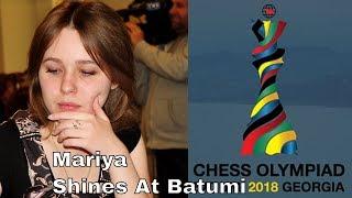 Mariya Muzychuk vs Tatiana Dornbusch: Chess Olympiad 2018