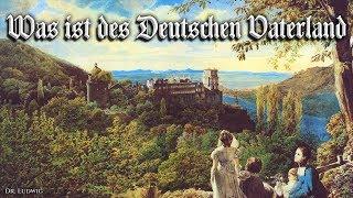Was ist des Deutschen Vaterland ✠ [German patriotic song][+ english translation]