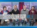 Chiodos — The PV Fan Q&A Part 1 (Interview)