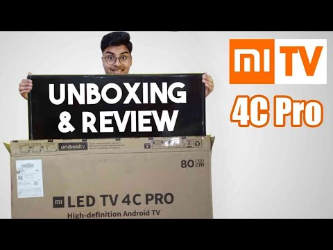 Mi TV 4C Pro 32 inch Unboxing and Review in Hindi | Features & Tricks