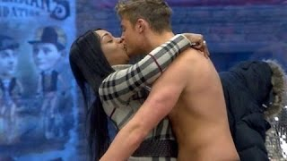 Scotty T Gets A Massage From Tiffany | Celebrity Big Brother