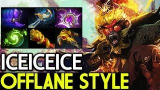 Iceiceice [Monkey King] Amazing Offlane Style 7.15 Dota 2