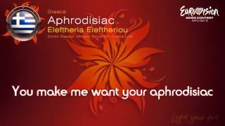 Eleftheria Eleftheriou-Aphrodisiac(Greece)-Eurovision Song Contest 2012 - on screen lyrics (HD)
