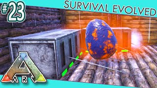 Ark Scorched Earth Small Hatch Room