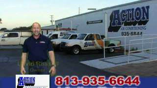 Action Air Conditioning - TV Commercial from Tampa AC Service Company