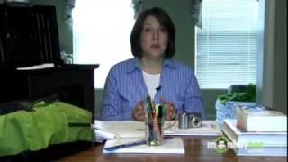 Home Organization - Child's School Work
