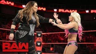 Nia Jax vs. Alexa Bliss: Raw, Sept. 18, 2017