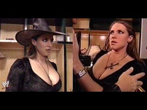 Xxx Mp4 WWE Stephanie McMahon Kiss In Halloween Party Backstage SmackDown Oct 31 2002 3gp Sex
