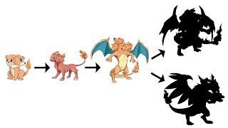 Charizard Evolutions as Dogs ? | Pokemon Gen 8 Fanart #8