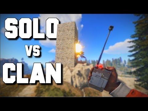 SOLO Player BANKRUPTS a CLAN Rust