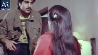 Prema Yudham Movie Scenes | Nagarjuna forced Amala | AR Entertainments