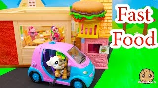 LPS Fast Food - Mommies Part 64 Littlest Pet Shop Series Movie LPS Mom Babies