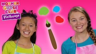 What Color Will This Make? | Color Challenge Game | Mother Goose Club Playhouse Kids Video