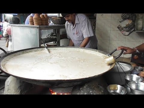 Healthy Malai Milk | People of Kolkata Eating Exciting Pure Drink  | Indian Street Food