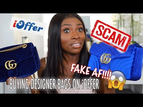 IS iOFFER THE NEW WISH? GETTING SCAMMED BUYING DESIGNER BAGS ON iOFFER!