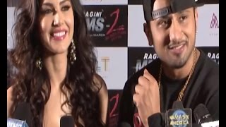 Funny : Sunny Leone & Honey Singh's Hilarious Interview | Ragging Raja