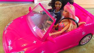 BARBIE CARWASH & BEACH CRUISER Mattel | itsplaytime612
