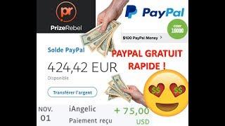 GAGNER DE L'ARGENT PAYPAL GRATUIT 2019 FACILE & RAPIDE - PRIZEREBEL